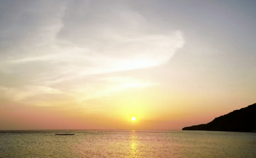 Video: Sunset @ Curaçao (1)