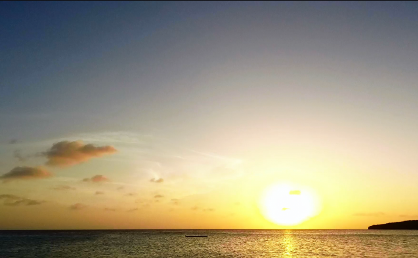 Video: Sunset @ Curaçao (2)