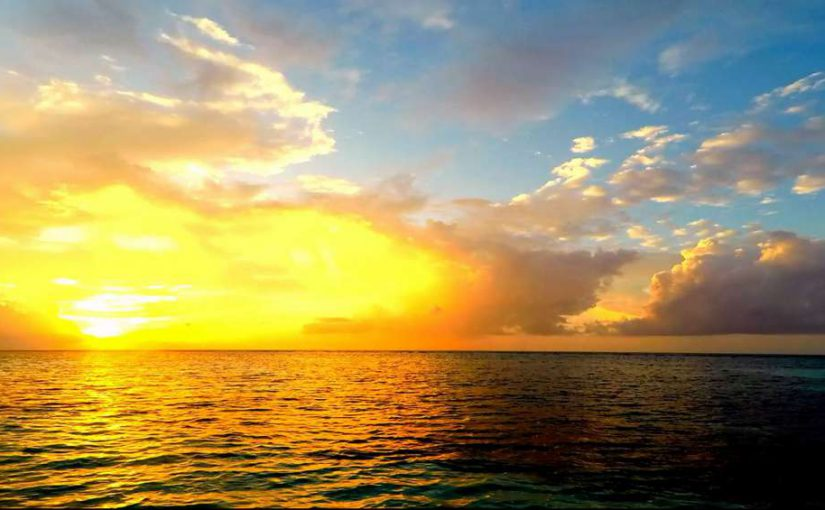 Video: Sunset @ Maldives (Part 2)