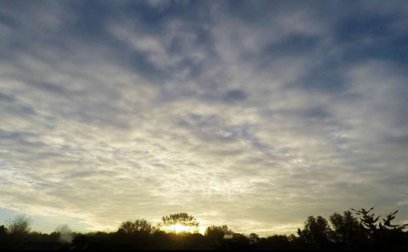 Video: Clouds, passing by