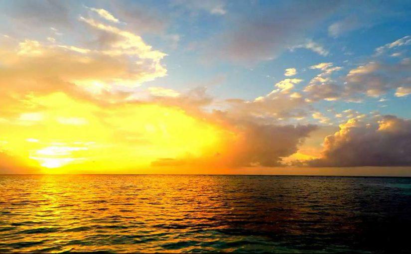 Video: Sunset @ Maldives (Part 2)